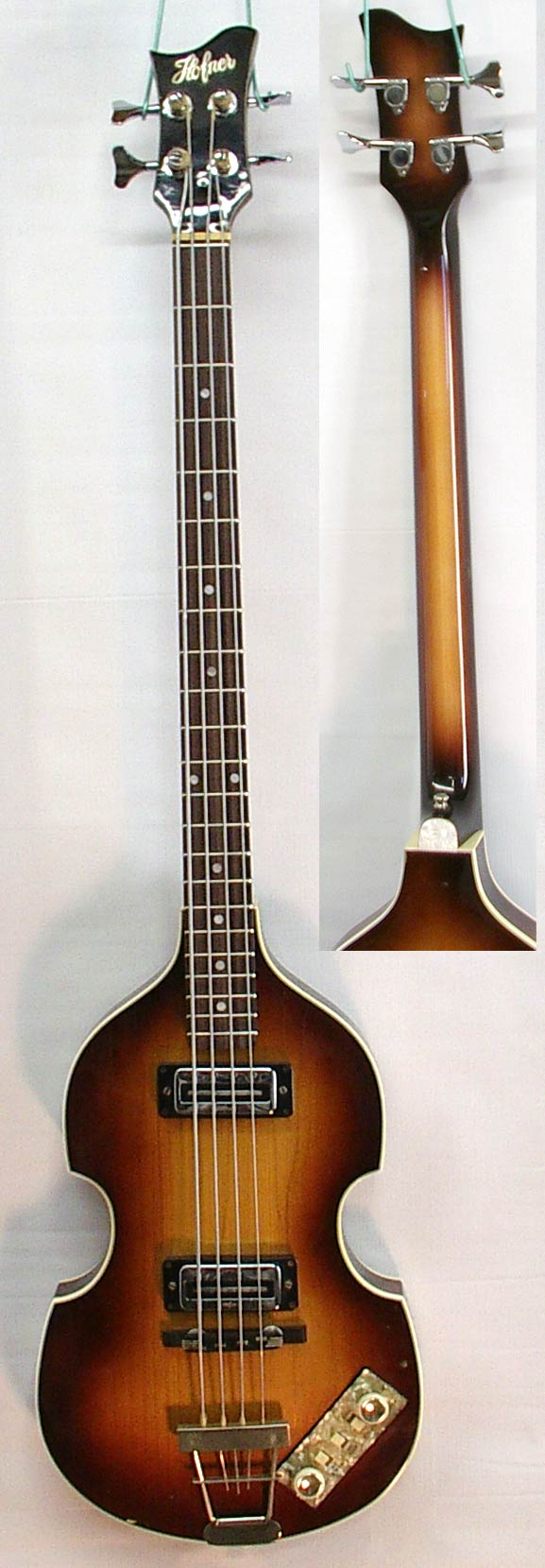 Hofner with new neck