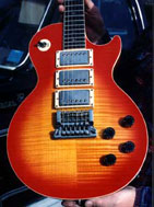 LP Flame Maple Retop